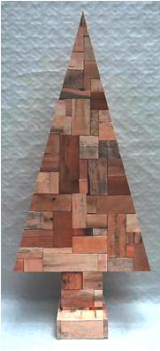 houten-kerstboom-hout